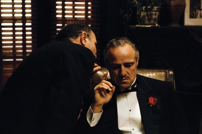 Marlon Brando a Keresztapa szerepében