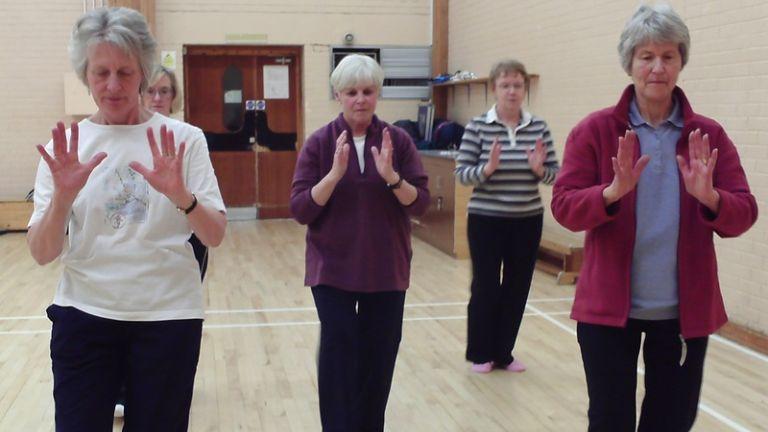 A tai chi tökéletes sport idősek és krónikus betegek számára