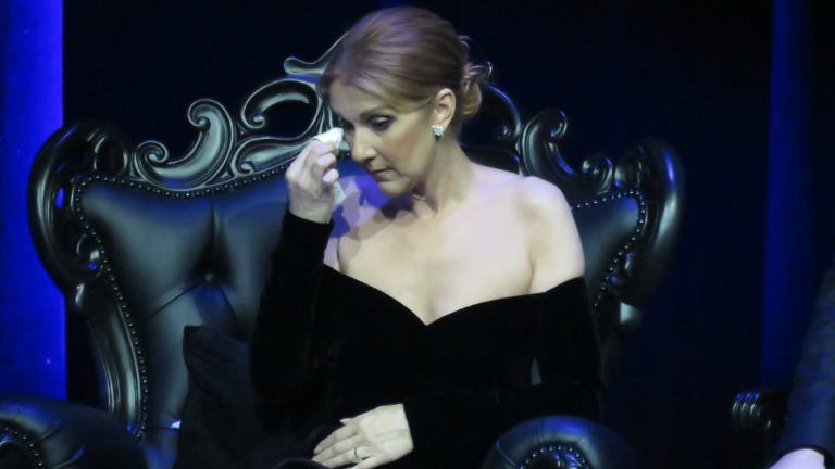 Ceine Dion először beszélt a férjéről
