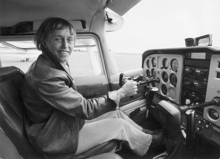 Beate Uhse pilótaként megjárta a háborút is
