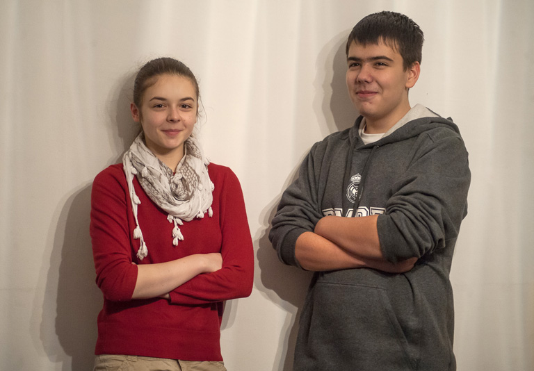 Károlyi Lili és Bogdán Gergő