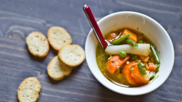 Gyors vacsora: téli zöldségleves