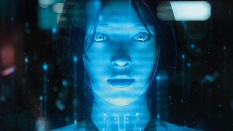 Ő Cortana, a Microsoft virtuális asszistense (Kép: Microsoft)