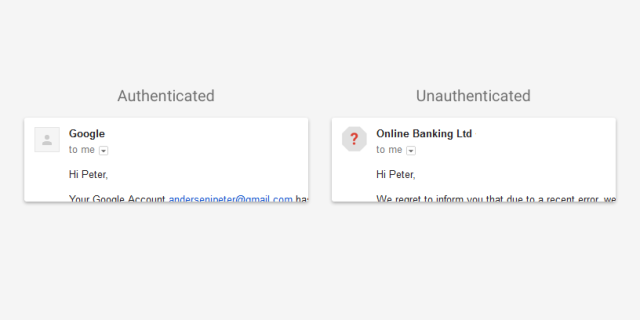 Ügyeljünk a biztonságra - a Gmail figyelmeztet