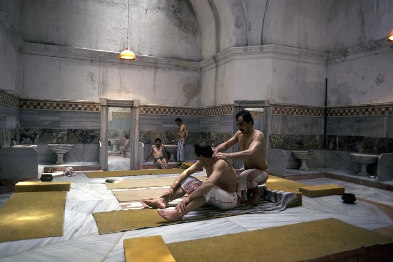 Török fürdő Isztambulban
