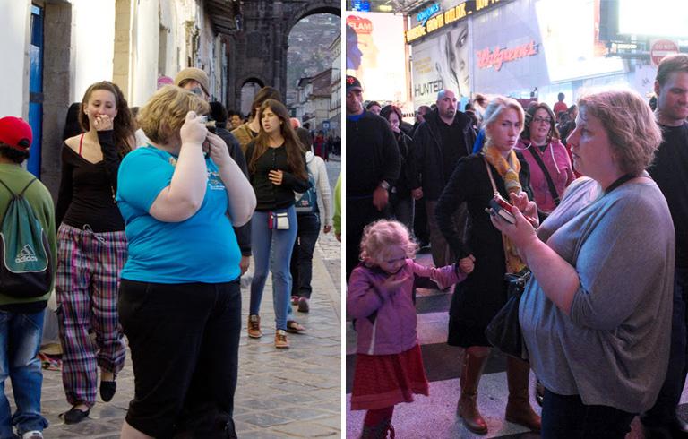 Haley Morris-Cafiero fotósorozata arról, hogyan néznek az emberek a túlsúlyos nőkre