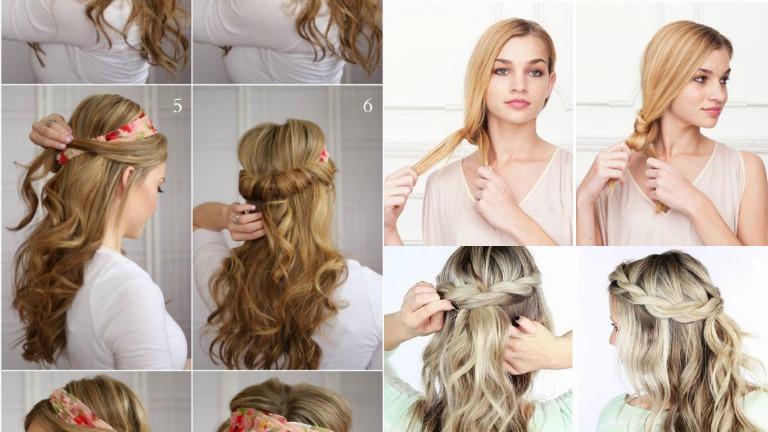 9aa0c2b638 3 gyorsan elkészíthető frizura hosszú hajból | nlc