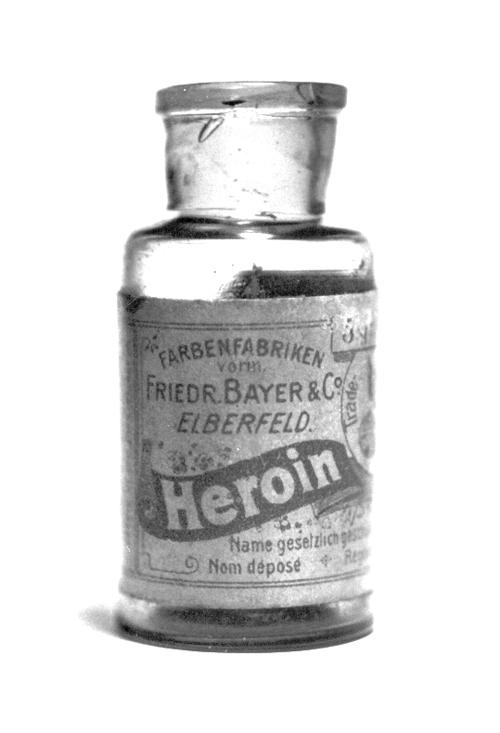 Bayer márkájú heroin, köhögés ellen