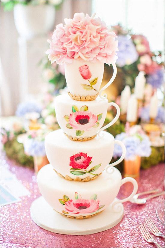 21 esküvői torta, amit nem lenne szívünk felvágni