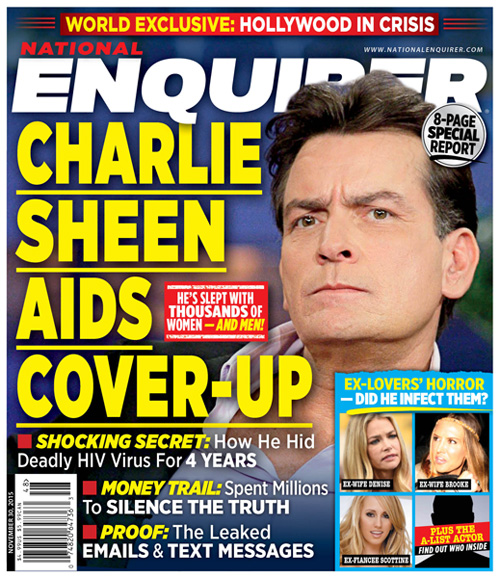 Rekordot döntött a HIV-re keresők száma Charlie Sheen fertőzöttségének bejelentése után