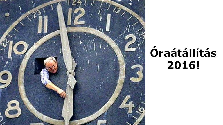 Óraátállítás 2016: Ekkor kell átállítani az órát!