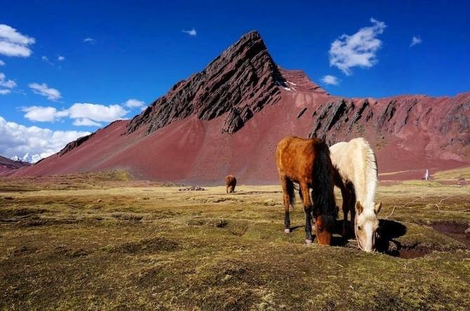 Peru szivárványszínű hegyeit Neked is látnod kell - lélegzetelállító képek