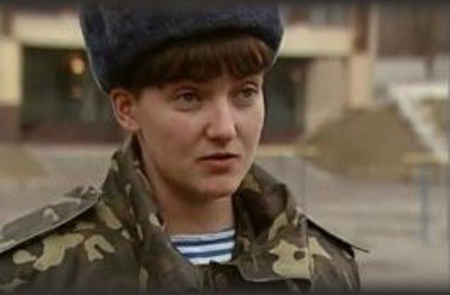 Nagyija Savcsenkó ukrán pilótanő