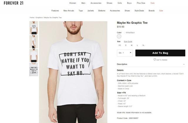 Botrányos pólót dobott piacra a neves divatmárka - fotó