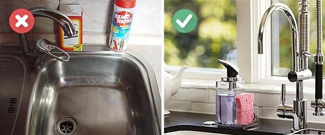 Ha egy kicsit adunk arra, hogy nézzen ki a mosogató környéke, másris kicsit trendibbé varázsolhatjuk a konyhát. Csak egy menő adagoló és hozzá illő színű szivacs kell!
