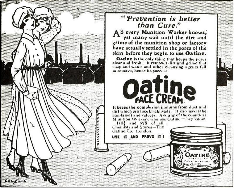 Kanári nők: a mérgező anyagoktól sárgává váltak és sárga babákt szültek az első világháború alatt