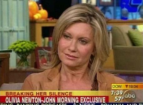 Olivia Newton-John hetekkel a vőlegénye eltűnése után beszélt először a történtekről