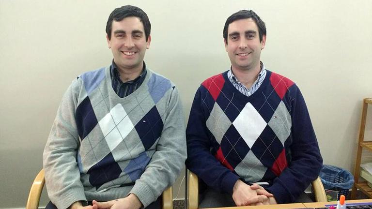 Dr. Tárnoki Ádám Domonkos (b.) és Dr. Tárnoki Dávid László (j.) (Fotó: Andersen Dávid)