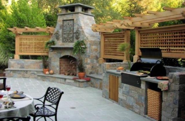 10 bámulatos kerti konyha megoldás