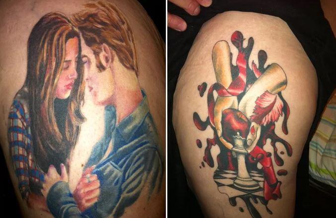 Tragikus Twilight tetoválások, amikért nagyon kár