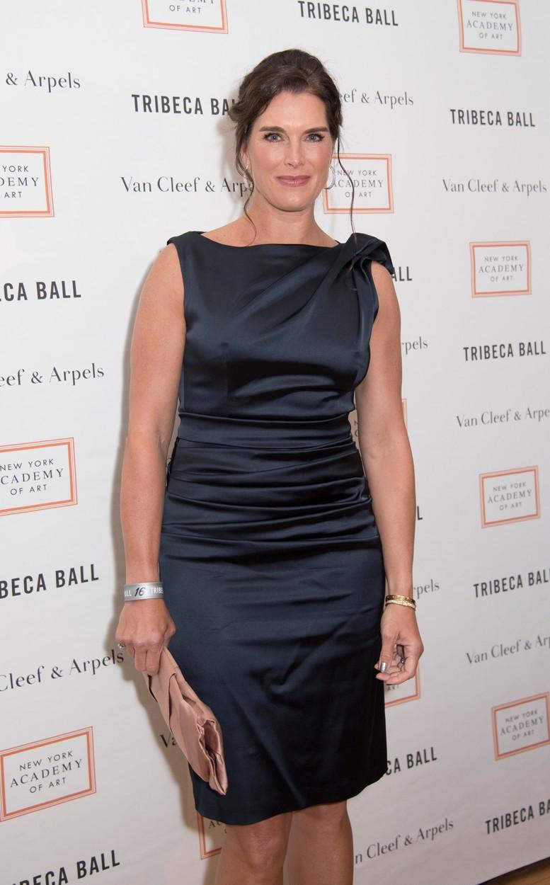 Így néz ki az 50 éves Brooke Shields