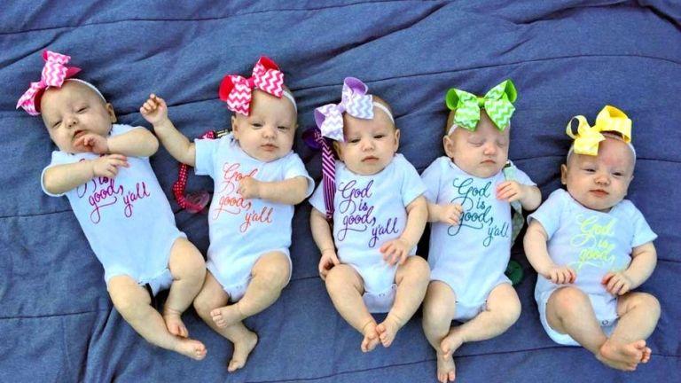 Ők amerikai ötösikerek, öthónapos korukban