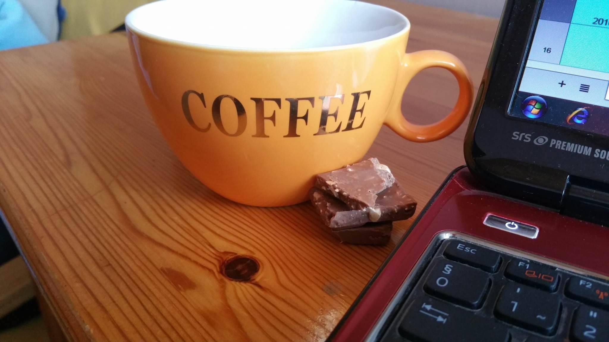 Legyen reggeli kávé vagy délutáni, csoki nélkül mit sem ér...