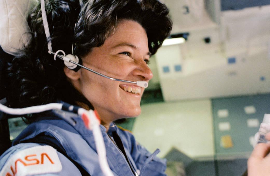 Sally Ride az első amerikai űrhajósnő (Fotó: NASA)
