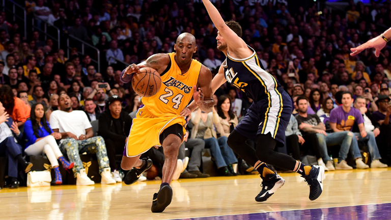 Kobe Bryant az NBA harmadik legeredményesebb pontszerzőjeként vonul vissza