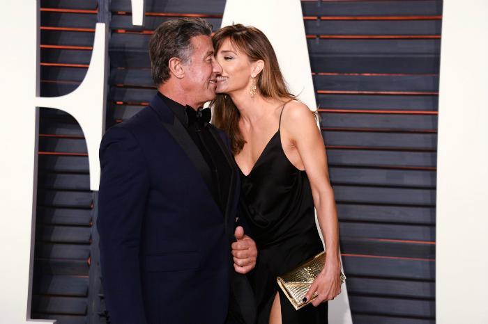 Stallone így imádja 22 évvel fiatalabb feleségét