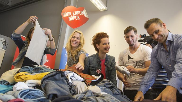 Adok-Kapok Napok – Légy részese Te is Magyarország legnagyobb ruhagyűjtési akciójának!