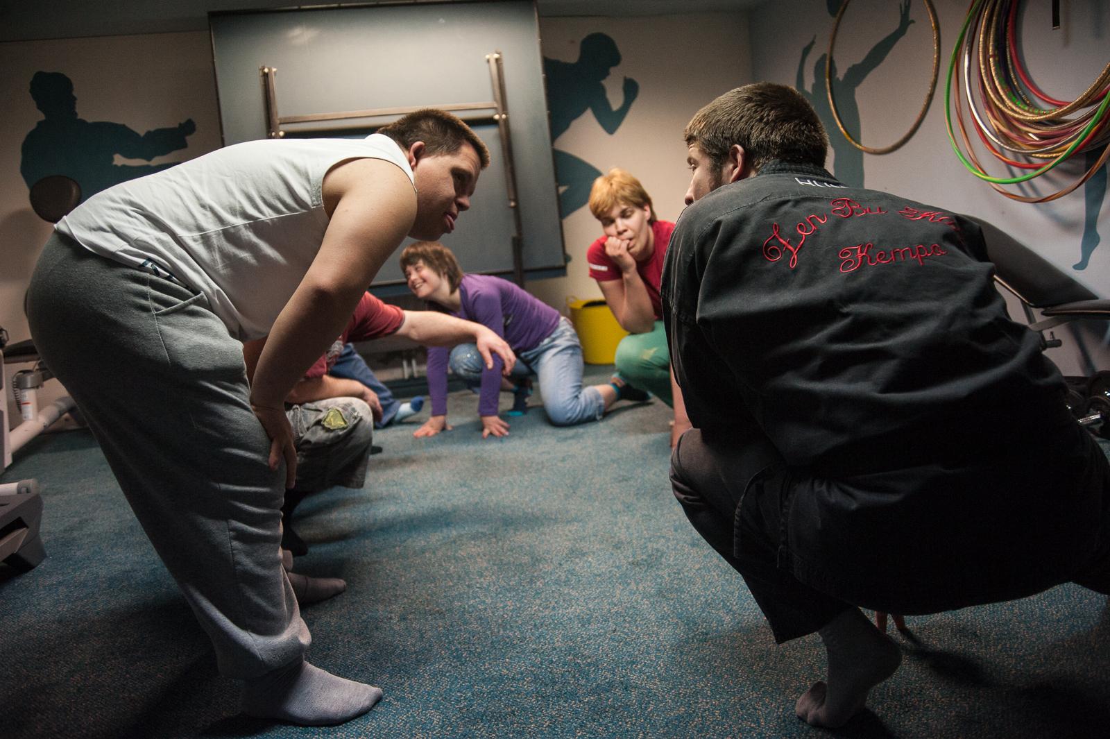 Önkéntesként tart kempo-edzést Down-szindrómásoknak egy magyar egyetemista