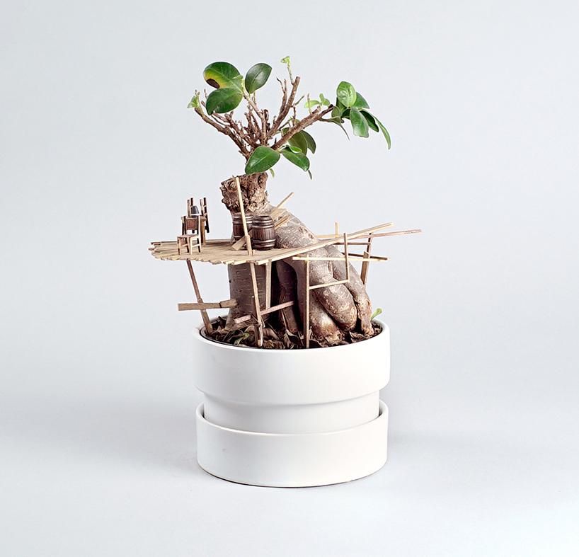 Dobd fel szobanövényeidet miniatűr faházakkal!