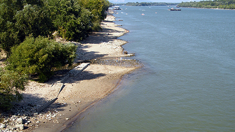Eddig ritkaságnak számított az utolsó érintetlen partrész a fővárosi Duna-parton