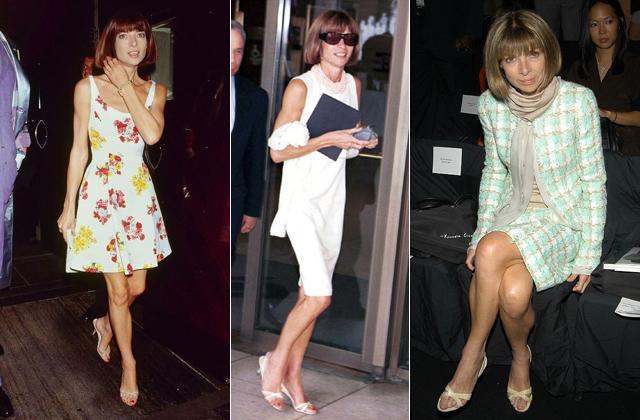 Anna Wintour évtizedek óta ugyanolyan szandálban jár - fotók