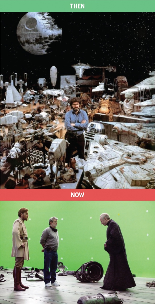 Jelen vs múlt: képek, amik jól mutatják, hogy változnak az idők - 1.