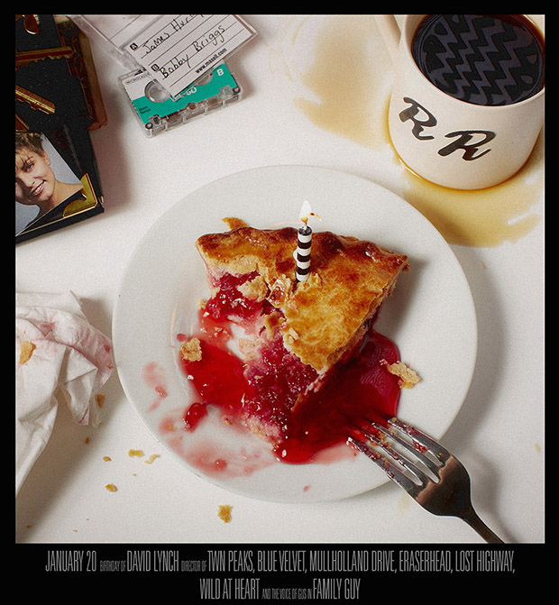 David Lynch, January 20 - Twin Peaks