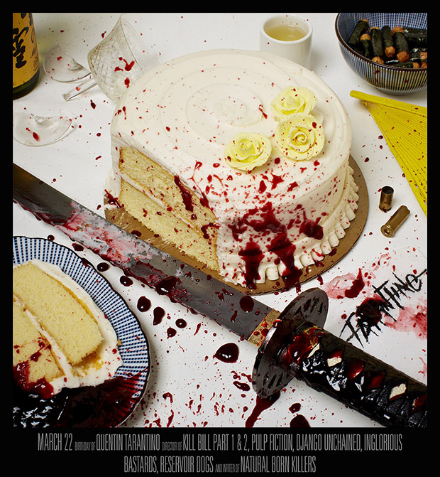 Quentin Tarantino, March 22 - Kill Bill