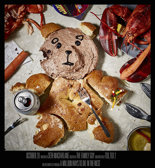 Seth MacFarlane, October 26 - Ted, Family Guy