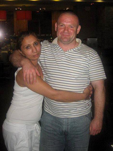 Tímea és párja