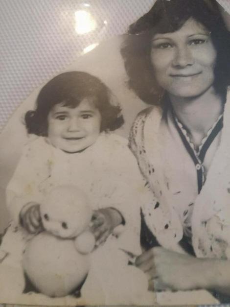 Jónás Tímea és édesanyja
