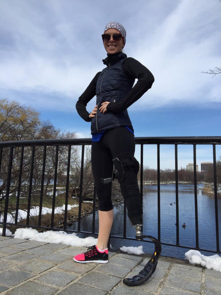 Újra indul a bostoni maratonon a robbantás túlélője
