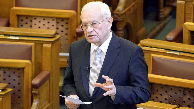 Harrach Péter, a KDNP frakcióvezetője – MTI Fotó: Kovács Tamás