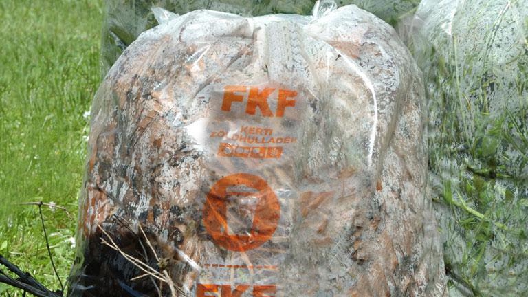 Erről a zsákról beszélünk - Fotó: FKF