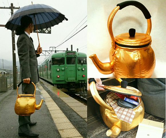 Japánban teáskanna-táska az új őrület
