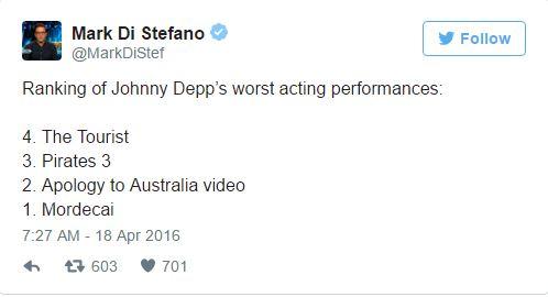 Johnny Depp szürreális videójából mém lett - jó okkal