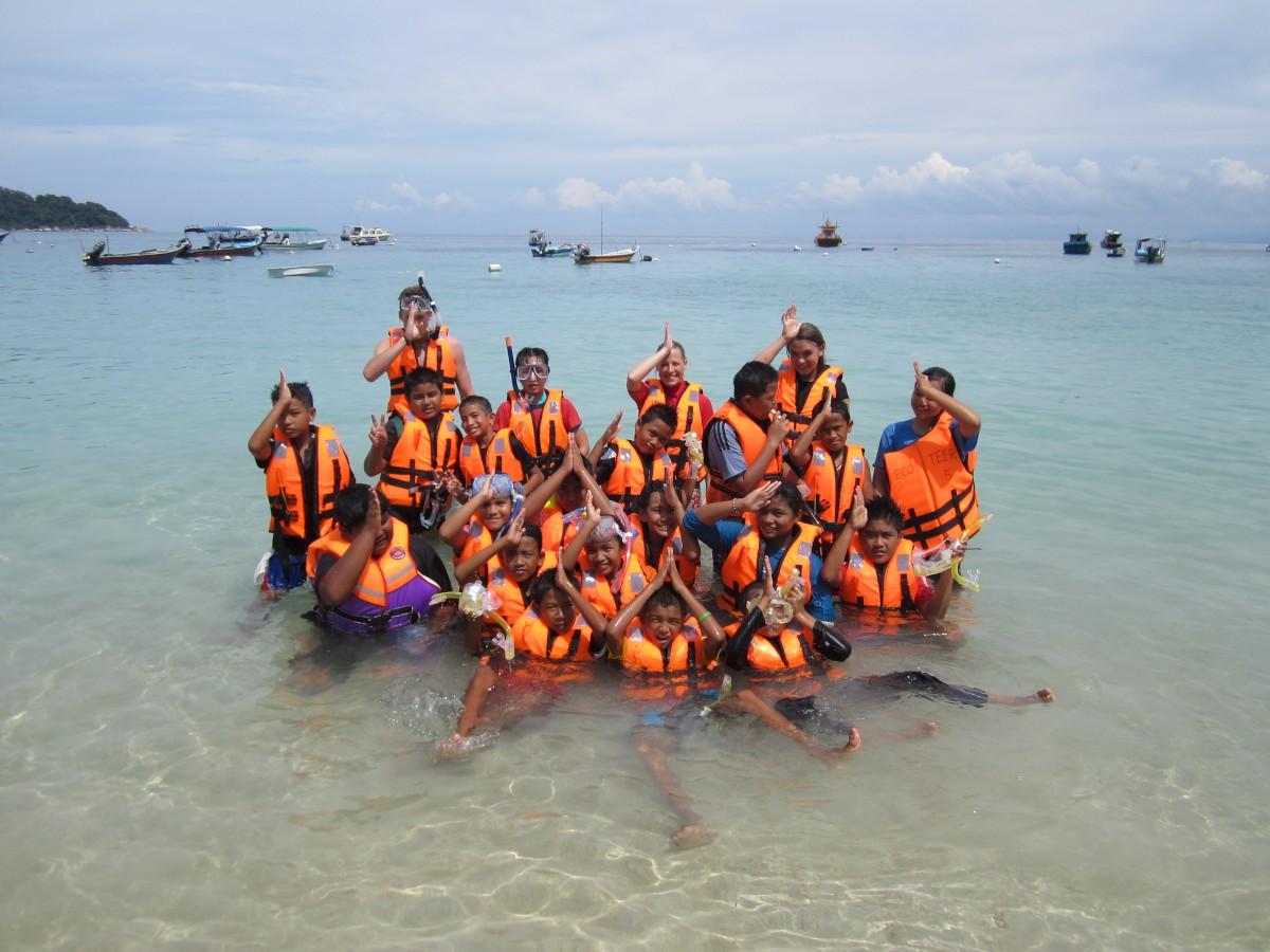 Andi önkénteskedése Malájziában