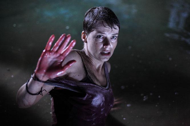 Osvárt Andrea az Utórengés c. filmben