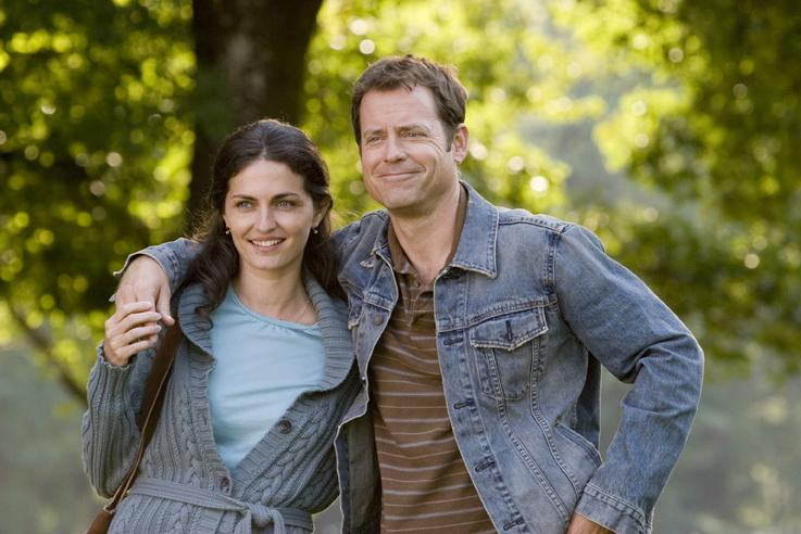 Marozsán Erika és Greg Kinnear a filmben
