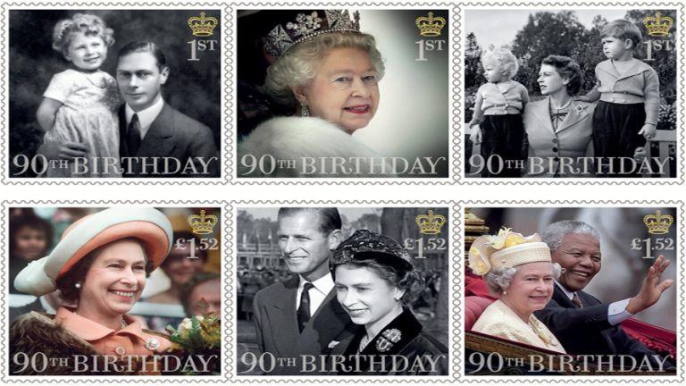Bélyegekkel ünneplik a britek II. Erzsébetet